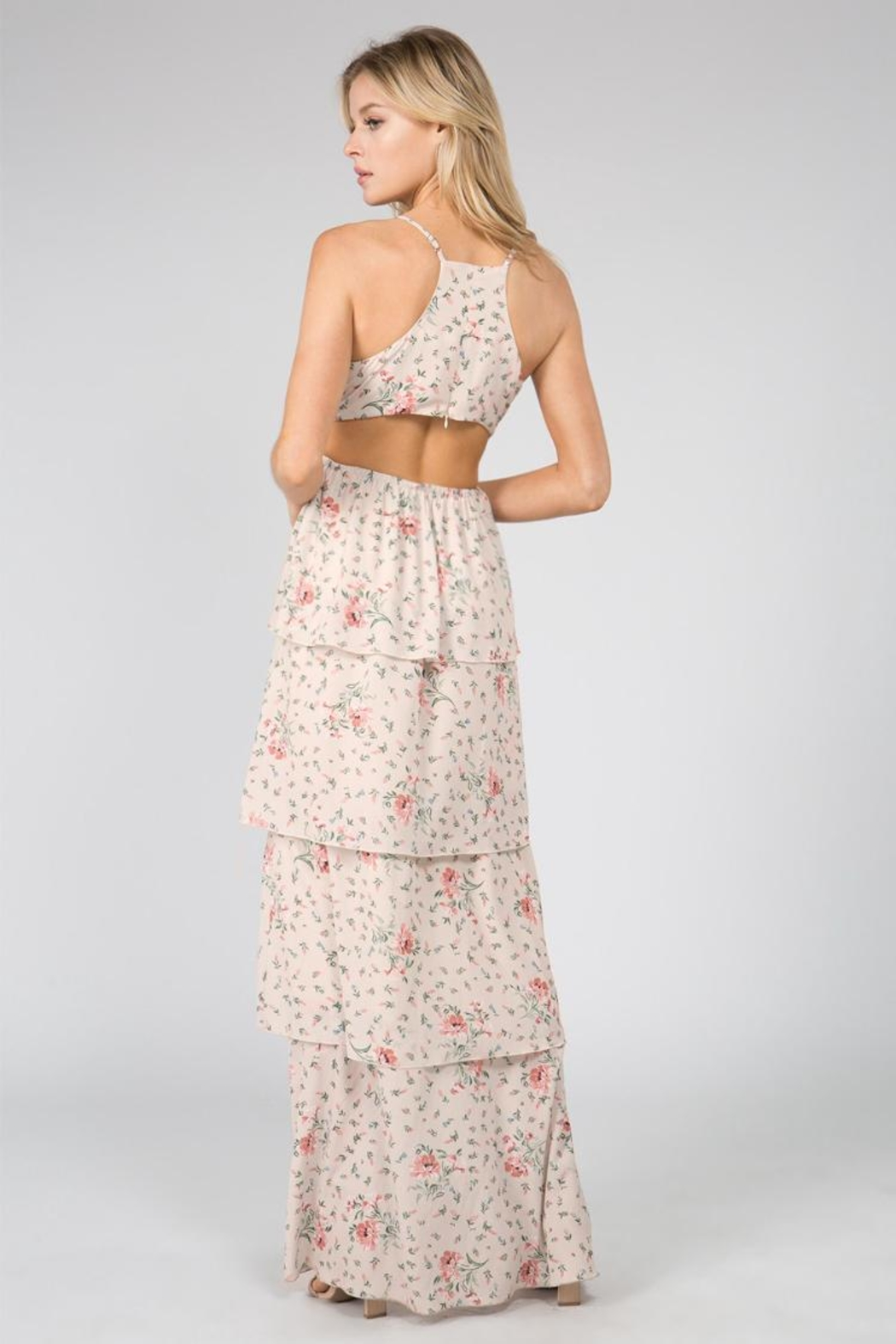 FANCO Layered Floral Maxi - Front Full Image