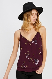 Gentle Fawn Layered Floral Tank - Product Mini Image