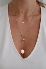 Bella D Layered Horn Necklace - Product Mini Image