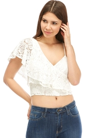 Idem Ditto  Layered Lace Cami - Product Mini Image
