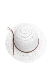 C.C. Layered Lace Hat - Product Mini Image