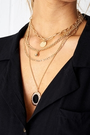 frontrow Layered Locket Necklace - Product Mini Image