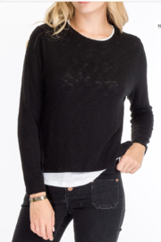 Olivaceous  Layered look Sweater - Product Mini Image