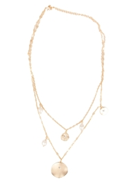 Saachi Layered Medallion Necklace - Other