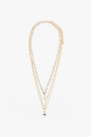 Lets Accessorize Layered Necklace - Product Mini Image