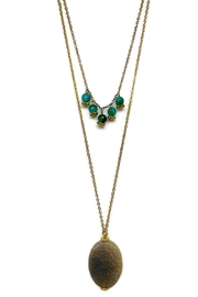 Ananda Chicago  Layered Necklace - Front cropped