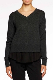 Brochu Walker Layered Plisse Pullover - Product Mini Image