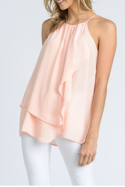 Doe & Rae Layered Ruffle Tank - Product Mini Image