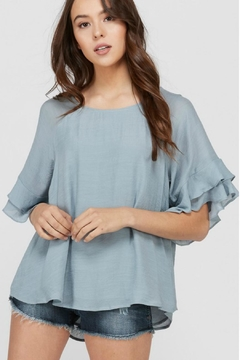 Shoptiques Product: Layered Ruffle Top