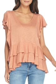 Anama Layered Ruffle Top - Product Mini Image