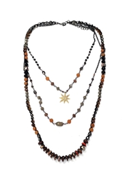 Nakamol Layered Star-Burst Necklace - Product Mini Image