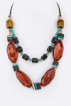 Miss Darlin Layered Statement Necklace - Product List Image