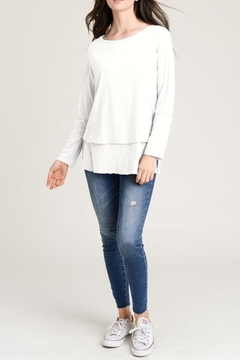 Wasabi + Mint Layered Sweater Top - Product List Image