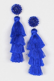 Bag Boutique Layered Tassel Earrings - Front cropped