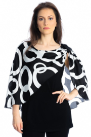 Michael Tyler Collections Layered Top - Product Mini Image