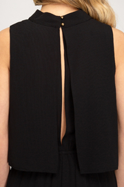 She + Sky Layered Top Jumpsuit - Side cropped