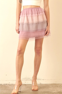 storia Layered Tulle Skirt - Product List Image