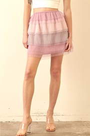 storia Layered Tulle Skirt - Front cropped