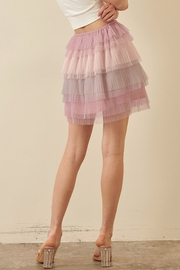 storia Layered Tulle Skirt - Side cropped