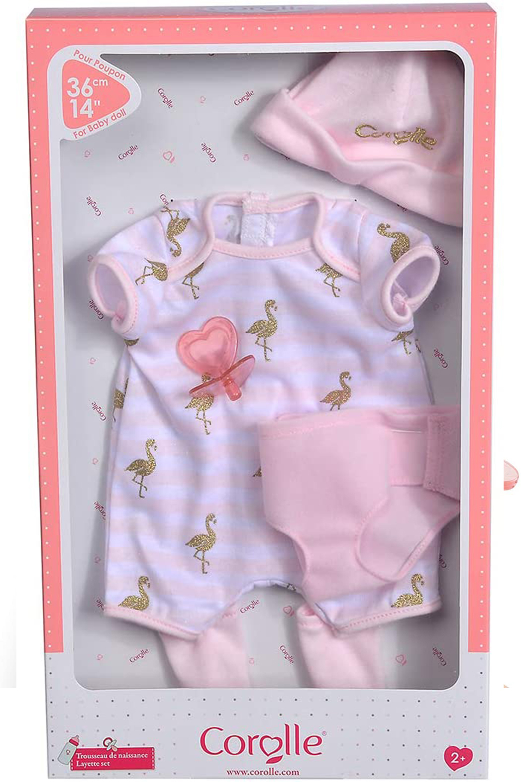 Corolle Layette Set - 14 Inch - Side Cropped Image