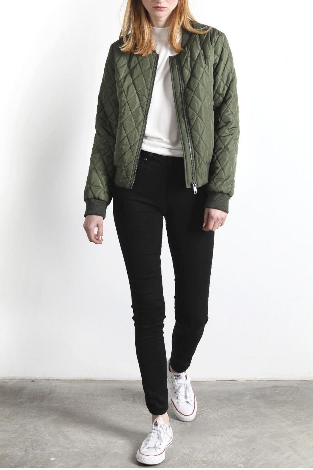 Mod Ref Layla Bomber Jacket - Side Cropped Image