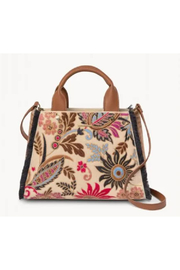 Spartina 449 Layla Fringe Satchel - Product Mini Image