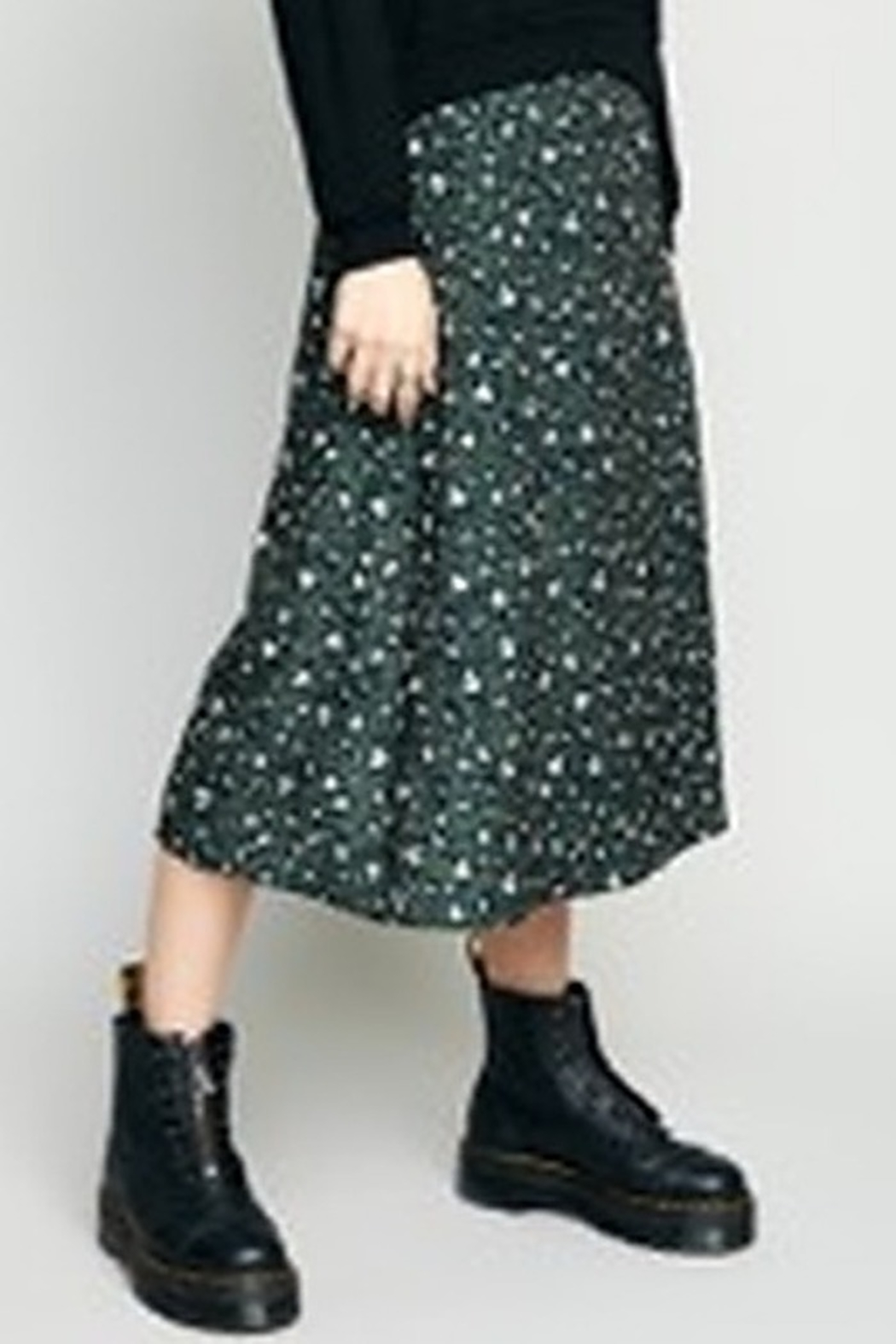 The Good Jane Layla Pleated Midi Skirt - Main Image
