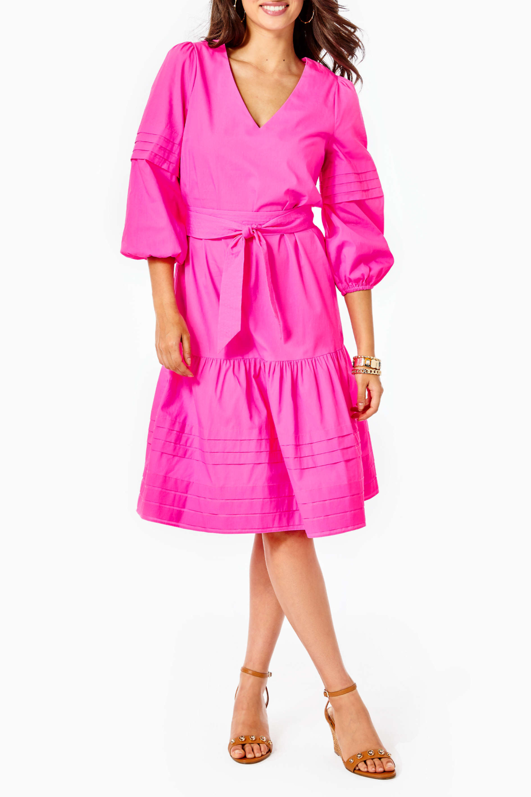 Lilly Pulitzer  Laylee Dress - Back Cropped Image