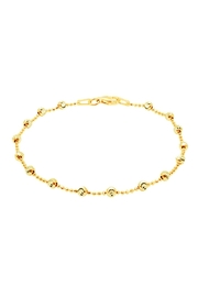 Officina Bernardi Lazer Cut Anklet - Product Mini Image