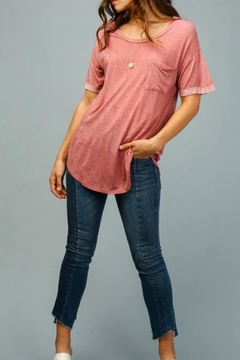 COVERSTITCHED Lazy Day Tee - Product List Image