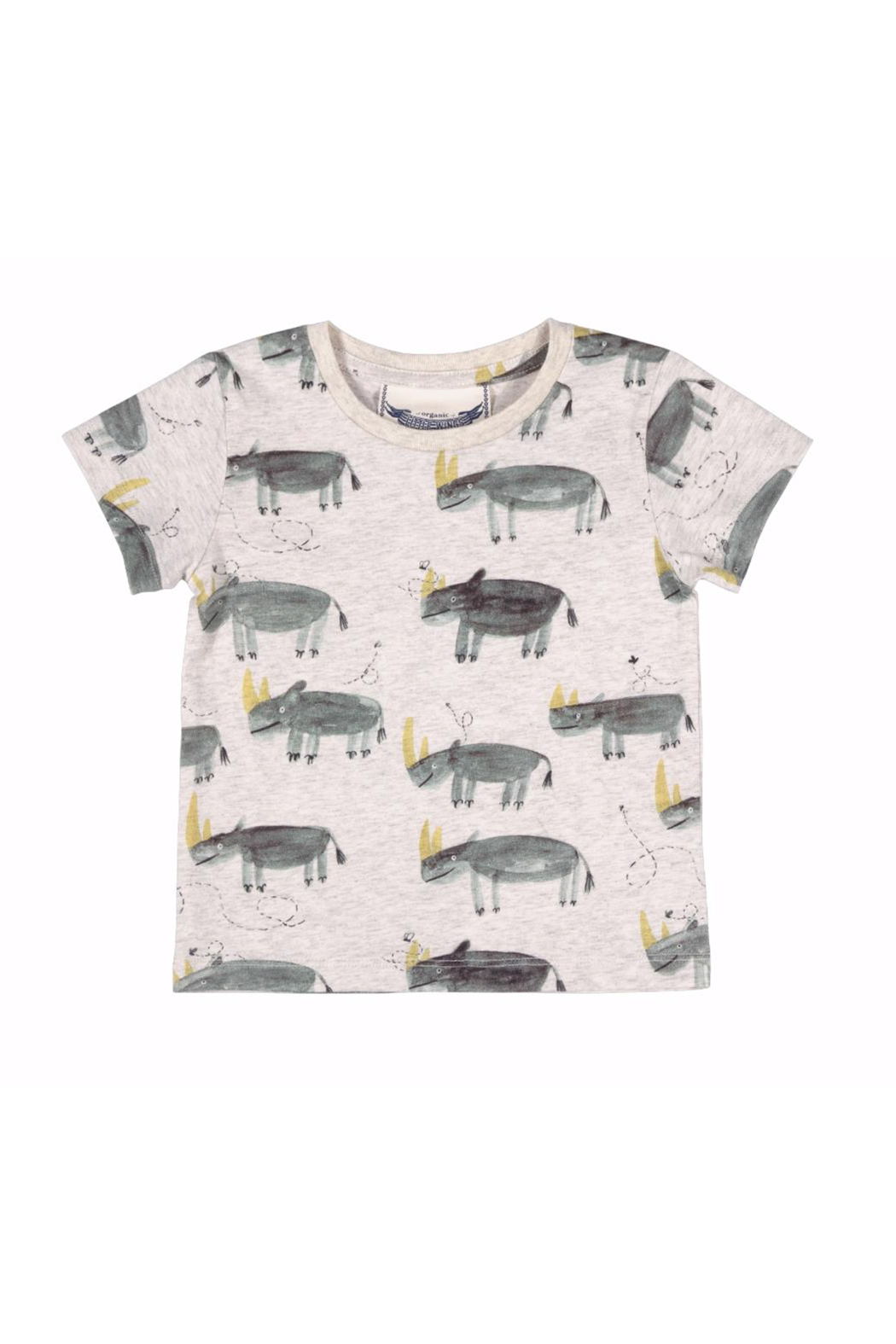 Paper Wings Lazy Days Rhino T Shirt - Main Image