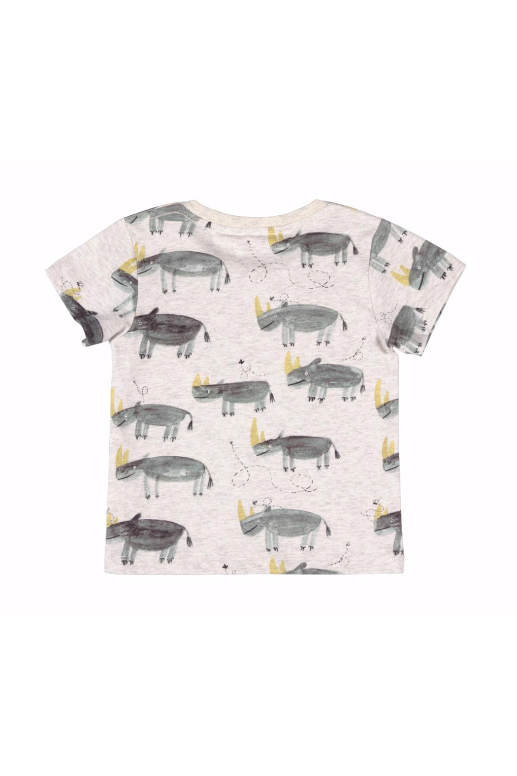 Paper Wings Lazy Days Rhino T Shirt - Front Full Image