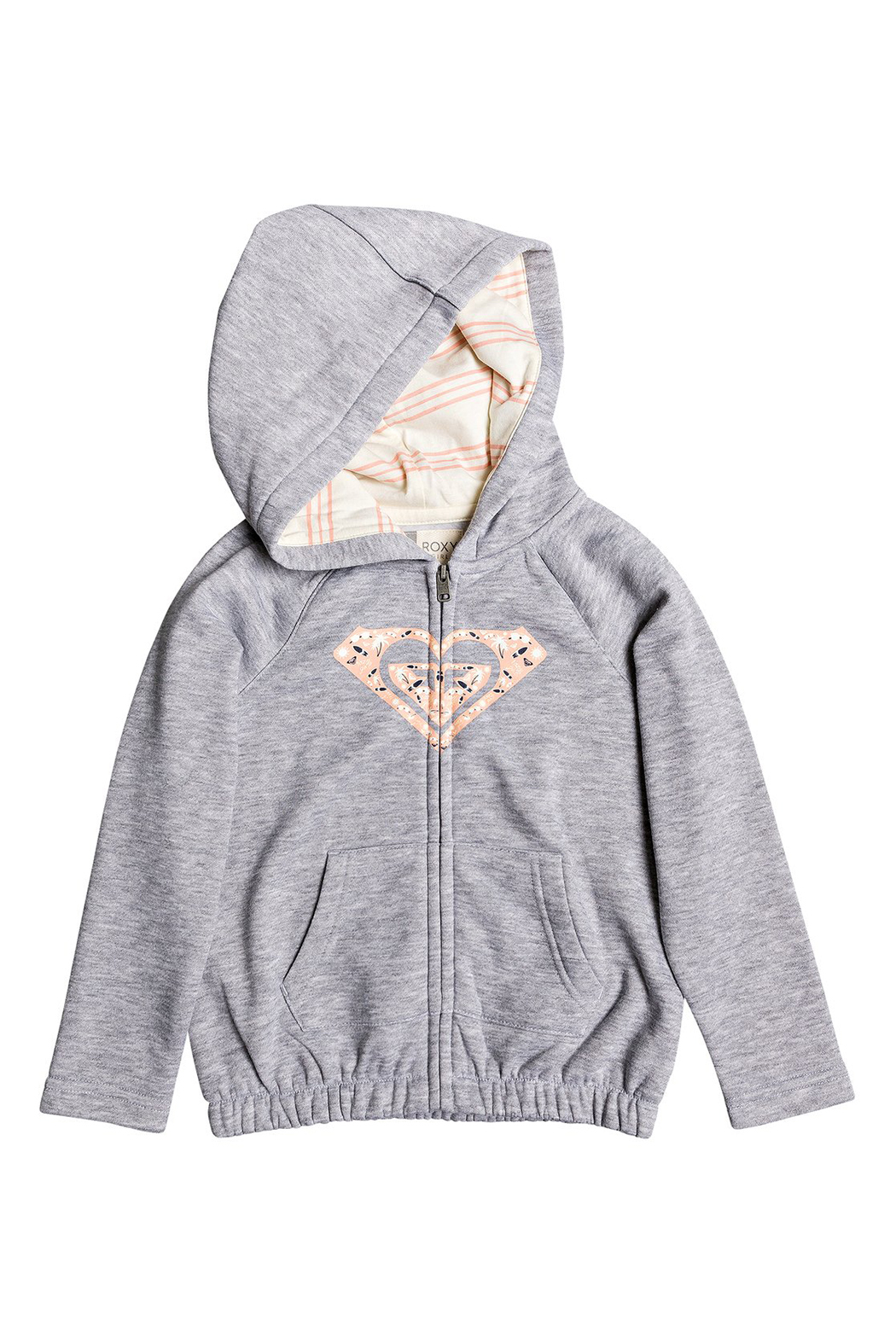 Roxy Lazy Love Zip Up Hoodie - Front Cropped Image