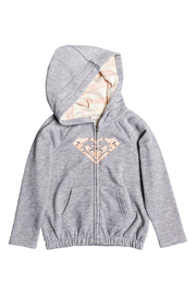 Roxy Lazy Love Zip Up Hoodie - Front cropped