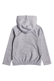 Roxy Lazy Love Zip Up Hoodie - Front full body