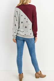 Lazy Sundays Color-Block Star Top - Side cropped
