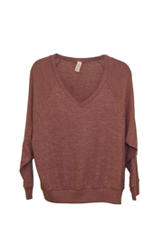Lazy Sundays V-Neck Sweater - Product Mini Image