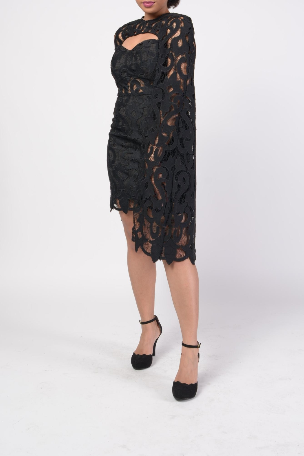 MODChic Couture Lbd Cape Duo - Main Image
