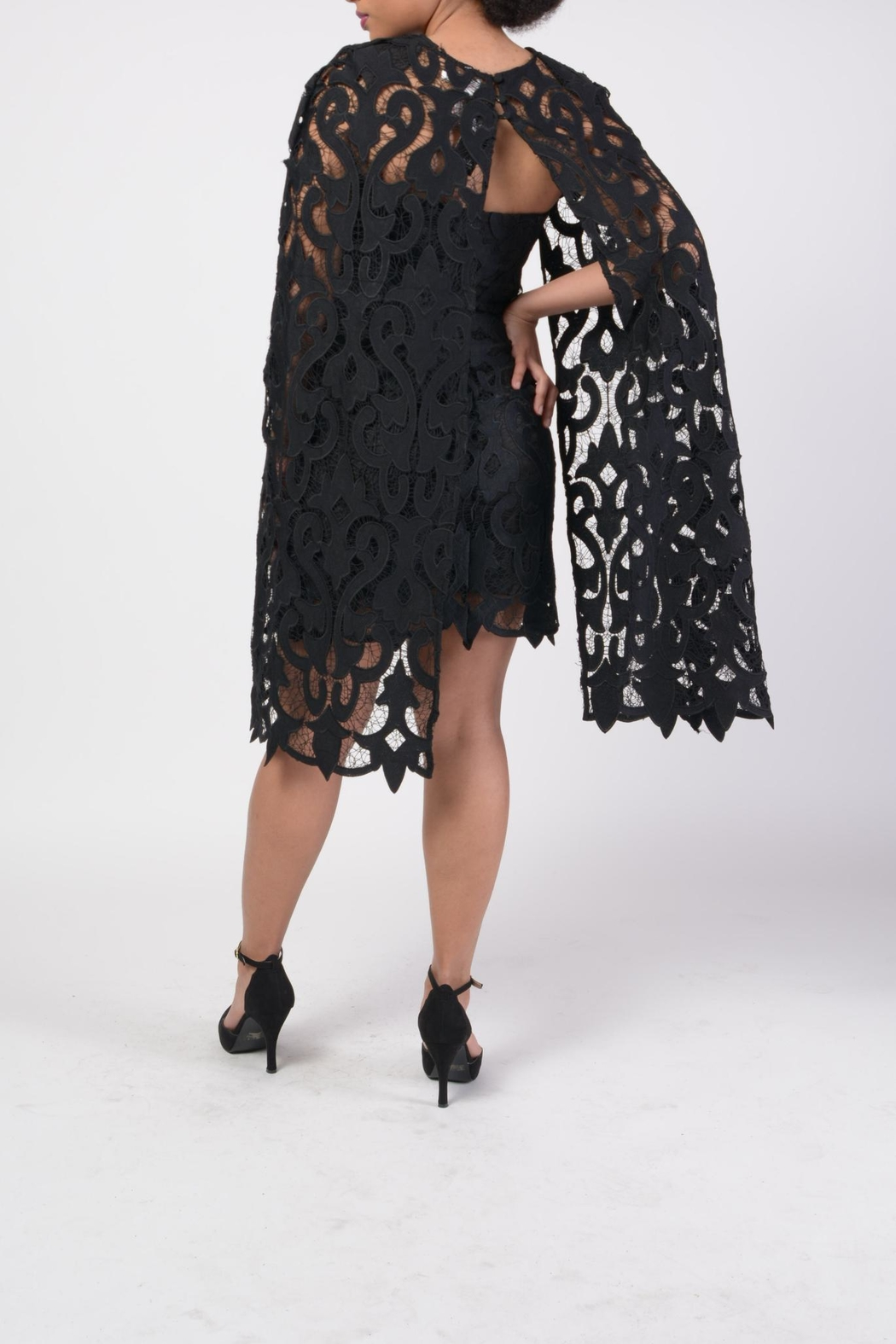 MODChic Couture Lbd Cape Duo - Side Cropped Image