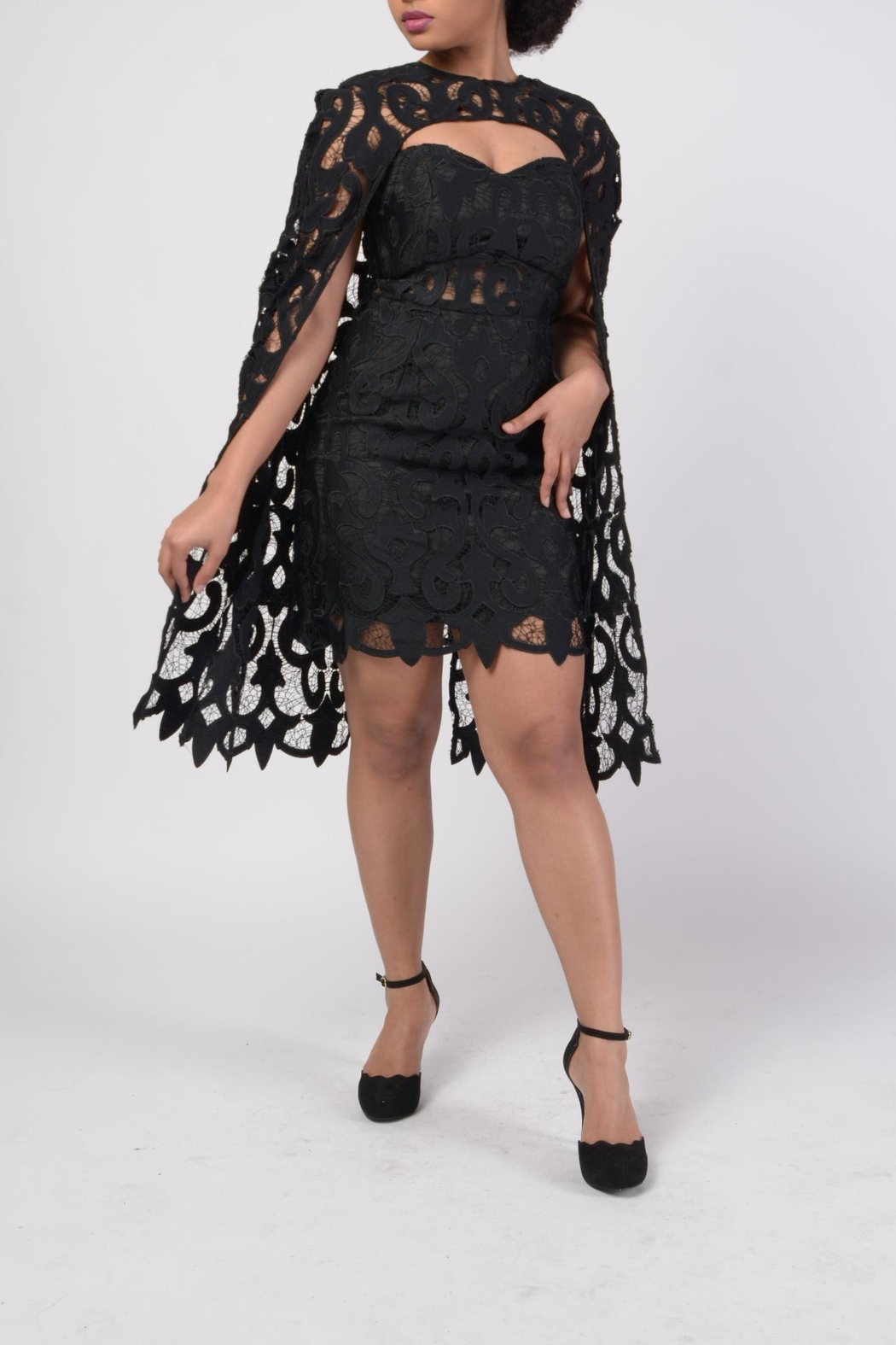 MODChic Couture Lbd Cape Duo - Front Full Image