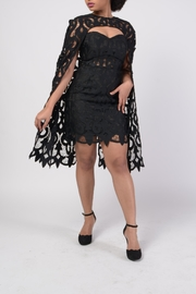 MODChic Couture Lbd Cape Duo - Front full body