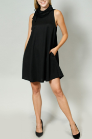 Coin 1804 LBD Gator-Neck Dress - Product Mini Image