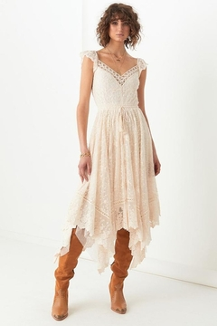 Spell & the Gypsy Collective Le Guaze Lace Kerchief Dress - Product List Image
