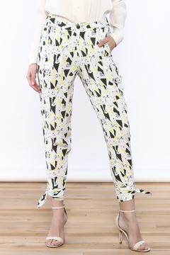 Le Lis Abstract Loose Pants - Product List Image