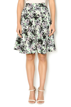 Shoptiques Product: Floral Pleated Skirt