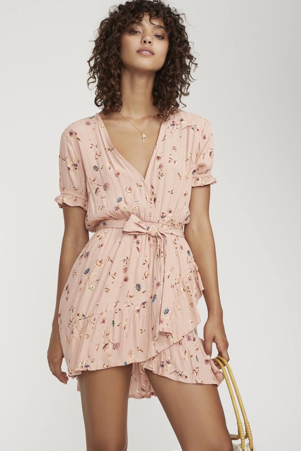 Faithfull The Brand Le Moulin Dress - Front Cropped Image