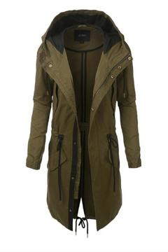 Shoptiques Product: Hooded Lightweight Parka