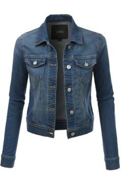 Le3no Short Jean Jacket - Product List Image