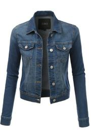 Le3no Short Jean Jacket - Product Mini Image