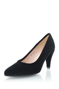 Shoptiques Product: Suede Pointed-Toe Pump